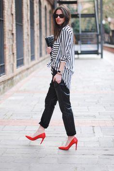Яркие туфли — стильный акцент 9