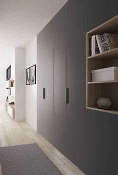 Couleur entrée Awesome 39 Stylish Wardrobe Design Ideas You Can Copy Right Now. Wardrobe Design Bedroom, Bedroom Wardrobe, Wardrobe Closet, Built In Wardrobe, Modern Wardrobe, Modern Closet, Room Interior, Home Interior Design, Armoire Entree