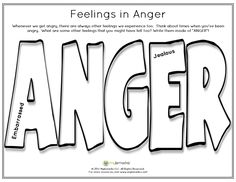 Therapeutic worksheets focused on helping kids and teens explore feelings of anger. Tools assist kids with identifying anger triggers and healthy anger management techniques. Cbt Worksheets, Therapy Worksheets, Therapy Activities, Therapy Ideas, Art Therapy, Speech Therapy, Social Skills Activities, Counseling Activities, Counseling Techniques