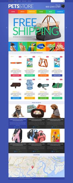 People want their pets look always nice and up to date. To renew the wardrobe of little fashionistas they buy modern clothes, designer's accessories, etc. Online stores help them find the newest an...