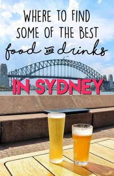 Sydney has some of the best food in the world - here is where to find it! #travelmatters