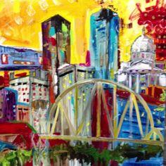 Tracee Gentry-Matthews - Little Rock Skyline