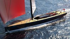 34m 'Nadir' by Ferrari Franchi Design https://www.yachtemoceans.com/nadir-34m-ferrari-franchi-design/ #yacht #sailing #segeln #zeilen #jacht #yachtdesign