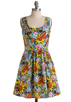 Modcloth Good Enough to Eat Dress