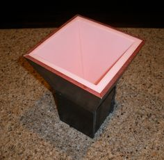 8.5 tall Sothic Pyramid Silicone Mold by InspirationMagician, $250.00