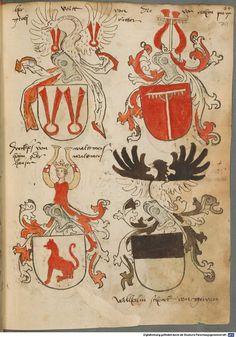 Tirol, Anton: Wappenbuch Süddeutschland, Ende 15. Jh. - 1540 Cod.icon. 310  Folio 71r