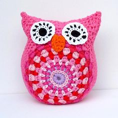Cuddly Owl (incl. link to pattern)