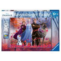 Ravensburger Puzzle, Frozen Disney, Hans Christian, Dinosaur Puzzles, Cross Selling, Build A Snowman, Snow Queen, Disney Films, Kids