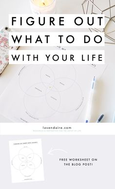 How to Figure Out What to Do With Your Life (Ikigai / Sweet Spot) - Lavendaire Live With Purpose, Finding Purpose, Life Purpose, Self Development, Personal Development, Improve Yourself, Finding Yourself, Done With You, Self Improvement Tips