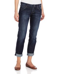 KUT from the Kloth Women's Catherine Boyfriend Jean           ($39.20) http://www.amazon.com/exec/obidos/ASIN/B006J3HIXE/hpb2-20/ASIN/B006J3HIXE I love KUT jeans. - They are such a great break from the skinny jeans and very flattering fit. - I have the same jeans in a 6 but they are a little too baggy.