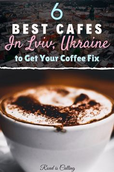 If you are traveling to Lviv, you have to try some local coffee drinks. Here is the list of the best cafes in Lviv to try the best coffee around the city History Of Chocolate, Types Of Chocolate, How To Make Chocolate, Chocolate Lovers, Handmade Chocolates, Cool Cafe, Great Coffee, Unique Recipes, International Recipes