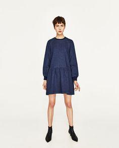 LONG SLEEVE DRESS-Short-DRESSES-WOMAN   ZARA Canada