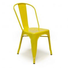 Tolix Side Chair - Canary Yellow - Set Of 2