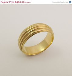 """Like this a lot! OPENING SALE 14 karat gold round ring Solid gold by noafinejewelry, $552.50  """"Carved out of wax as imperfect wires lean against each other in circles just as life and love do."""""""