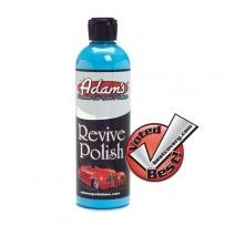 Adam's Revive Polish  Adds Depth, Gloss and Clarity    Super Easy to Use    Revive your Finish by Hand    Perfect Pre-Wax Cleaner