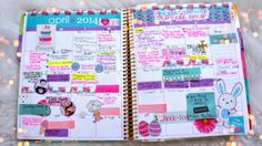 Belinda Selene's planner SO CUTE <3
