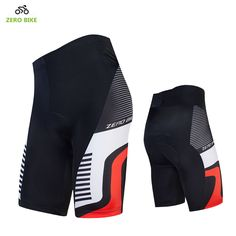 ZERO BIKE New Men's Cycling Shorts Breathable 4D GEL Padded Bike/Bicycle Outdoor Sports Tight Shorts Bermuda ciclismo