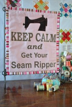 Get Your Seam Ripper Mini Quilt