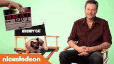 Kids' Choice Awards   Grumpy Cat is Unimpressed with Blake Shelton   Nick