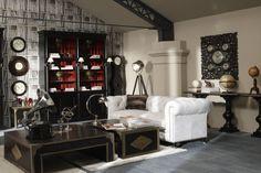 salotto Dialma #itesoricoloniali #arredamenti #reggioemilia #loft #dialmabrown #salotti #homestaging #design