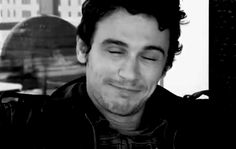 Damn, that smile is contagious. Having a bad day? Not after a smile from James Franco. :)
