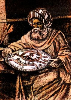 Mohammed bin Jabir ibn Sinan al-Battani (929-850 AD)   One of the greatest astronomers of the world, the development of theories of the task  In scientific algebra and trigonometry  Aware of the flags of Arab-Islamic civilization  Who came to the product of human genius that is priceless