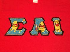 Custom Disney Greek Letter Sweatshirt Big Little Ideas