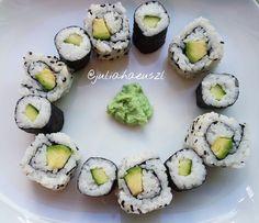 Sushi, Food Ideas, Ethnic Recipes, Vegane Rezepte, Sushi Rolls