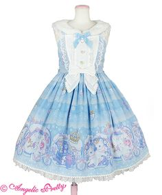 Lovely Snow Fantasyジャンパースカート