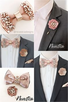 Ladies girls women adjustable pretied bow silk satin bow tie cravat stripes T5