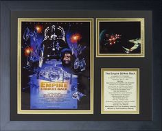 Star Wars The Empire Strikes Back Special Edition Framed Memorabilia