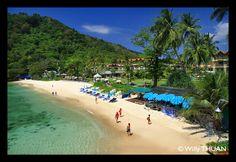 Tri Trang Beach in Phuket, near Patong Beach