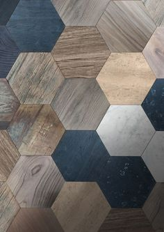 House Interior Design Ideas - We share interior decoration ideas to obtain your innovative juices flowing, from Do It Yourself house design jobs to cool homes that will influence. Interior Design Blogs, Interior Design Minimalist, Interior Decorating, Floor Design, Tile Design, House Design, Hexagon Tiles, Hex Tile, Tiles Texture