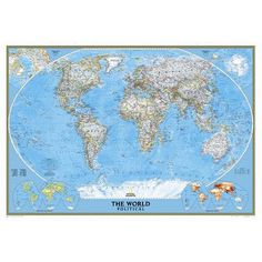 New ikea premiar world map picture with framecanvas large 55 x 78 national geographic maps world classic wall map map type poster 24 x 36 gumiabroncs Gallery