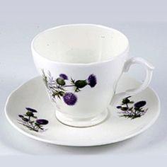 Scottish tea cup
