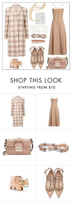 """""""Interview Neutral Style"""" by pat912 ❤ liked on Polyvore featuring Chanel, Valentino, RED Valentino and Bony Levy"""
