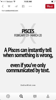 Zodiac Mind - Your source for Zodiac Facts Pisces Traits, Pisces And Aquarius, Zodiac Signs Pisces, Pisces Love, Astrology Pisces, Pisces Girl, Pisces Quotes, My Horoscope, Pisces Woman