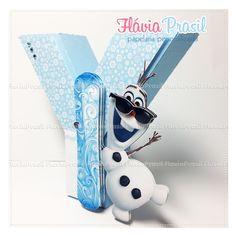 Letras 3d Frozen