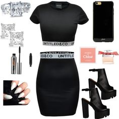 H 's look in a nutshell. by bookheatherrobateau on Polyvore featuring beauty, Benefit, Chloé, Sonix, BERRICLE and Allurez