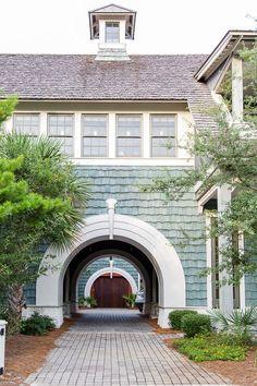 Shingle Style Architecture, Exterior House Colors, Exterior Homes, Exterior Paint, Ocean House, Modern Farmhouse Exterior, Beautiful Places To Travel, Beach House Decor, Pencil Shavings