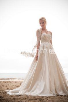 Fantastic Sweetheart Empire Floor-Length Chapel Appliques Wedding Dresses