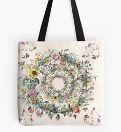 Circle of life Tote Bag  25% off mugs, totes, and spiral notebooks. Use STRETCHFOR25