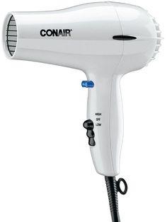 Conair 1875 Watt Hair Dryer, White 1 ea (Pack of 11) ** Click image for more details.