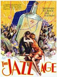 the jazz age describes the period from 1918 1929 these were the years ...