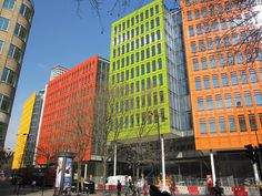 Renzo piano, Central St. Giles, London