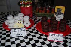 Crafty Teacher Mom: Disney Cars Birthday Party! Use this blog for food ideas