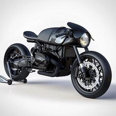 Via @ziggymoto: a BMW R NineT concept with conventional forks. We're sold. #bmw…