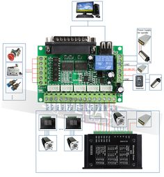 3 Axis CNC Controller Kit Nema23 Stepper Motor 175 Oz in M335 Motor Driver 3.5A-in Motor Driver from Home Improvement on Aliexpress.com | Alibaba Group