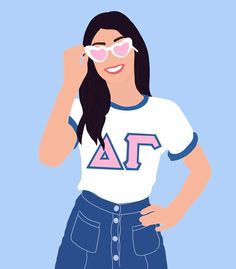 delta gamma graphic!