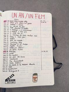Invente ta plume : nouveau bullet journal et préparation de Novembre 2016 _ UN AN UN FILM